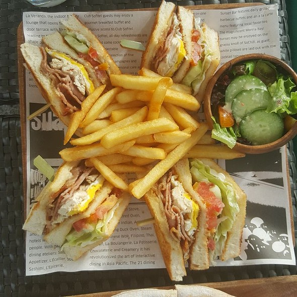 Clubhouse Sandwich @ Sofitel Philippine Plaza Manila
