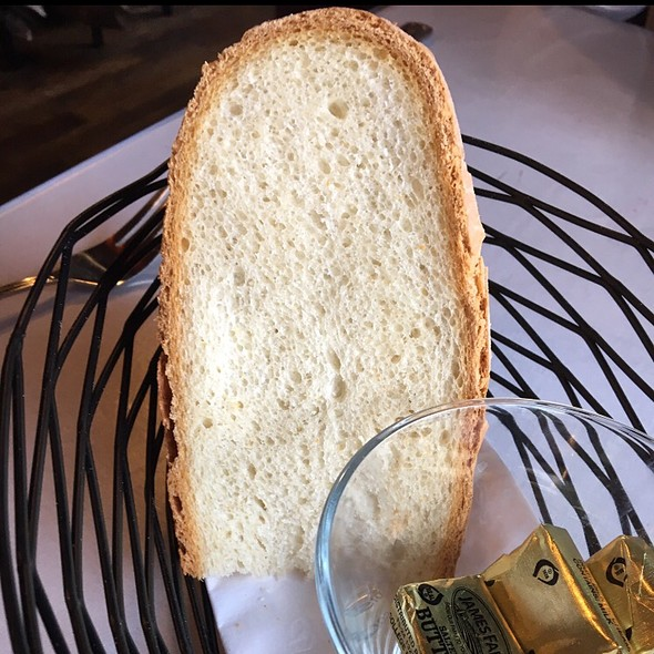 Italian Bread With Butter @ Rino's Place