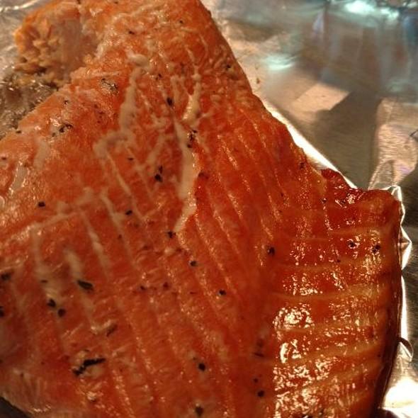 Bourbon Salmon Filet