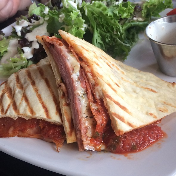 Pizza Pannini @ West Hills Flats & Taps
