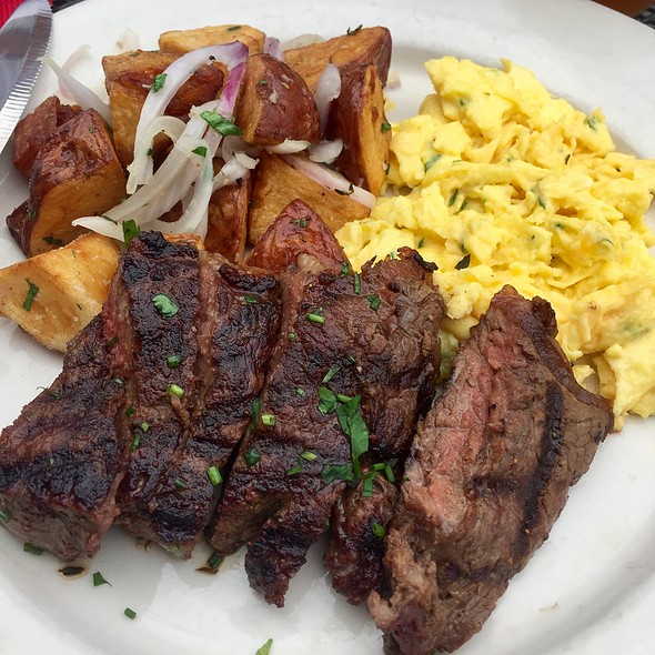 Steak & Eggs @ Mulebone