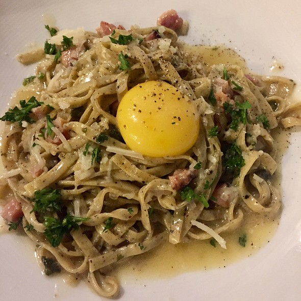 Carbonara @ Sonoma Restaurant And Wine Bar
