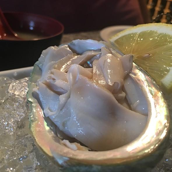 abalone sashimi @ Tokyo Bistro