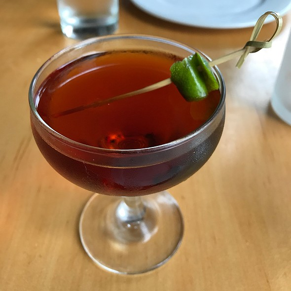 Spanish Harlem Cocktail @ Pizzeria Ortica