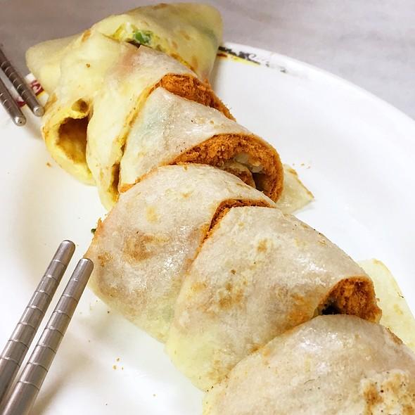 Dan Bing (Egg Pancake) @ 永和豆漿大王