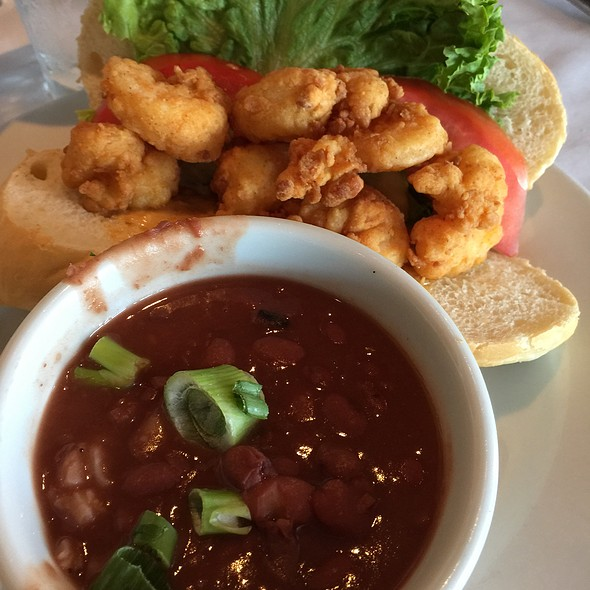 Shrimp Po' Boy Red Beans, And Rice