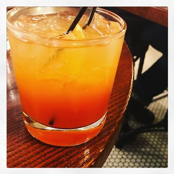Barnstormer Bourbon Cocktail