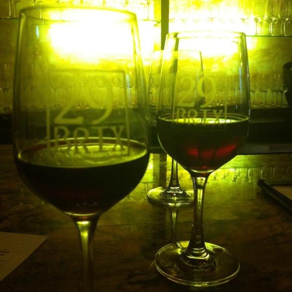 Pinot Perfection Flight - 20nine Restaurant & Wine Bar, San Antonio, TX