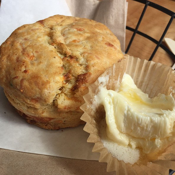 Cheddar Chive Biscuit @ Philz Coffee