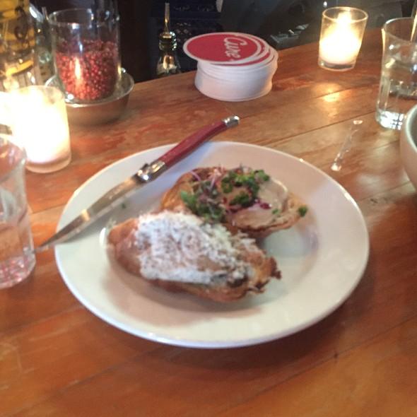 Foie Gras Toast & Mushroom Mousse