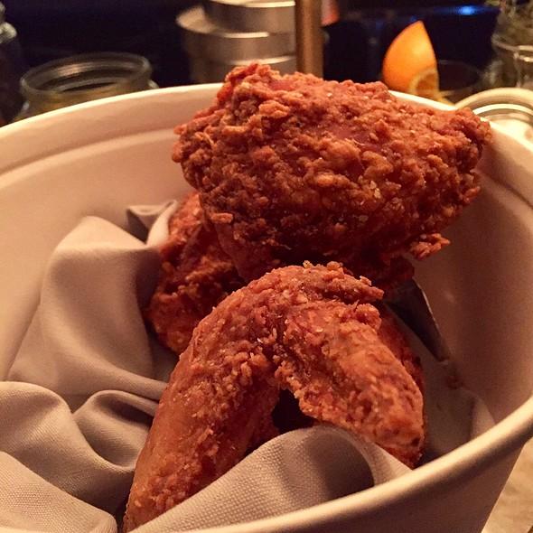 fried chicken @ Chicago q