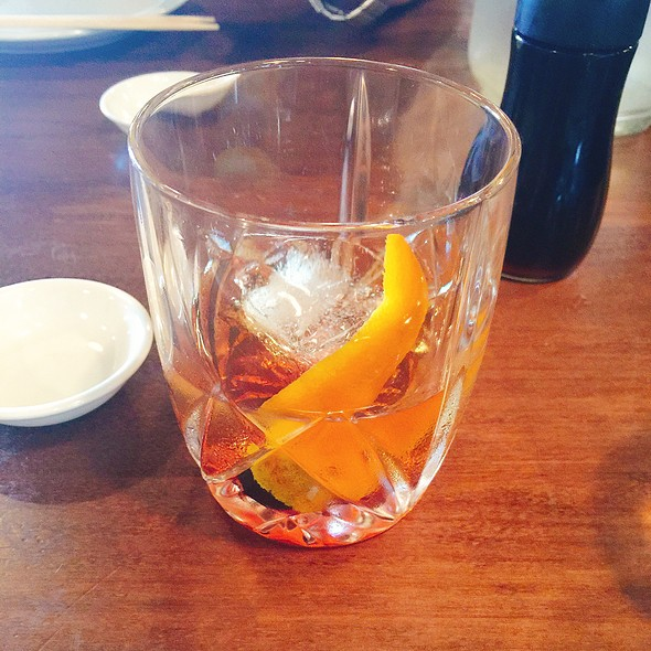 Old Fashioned @ Aji Japanese Bistro