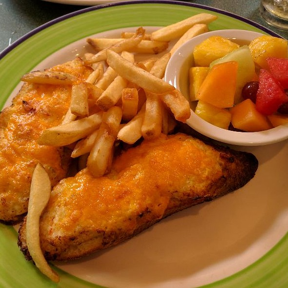 Hot Crab With Melted Cheddar