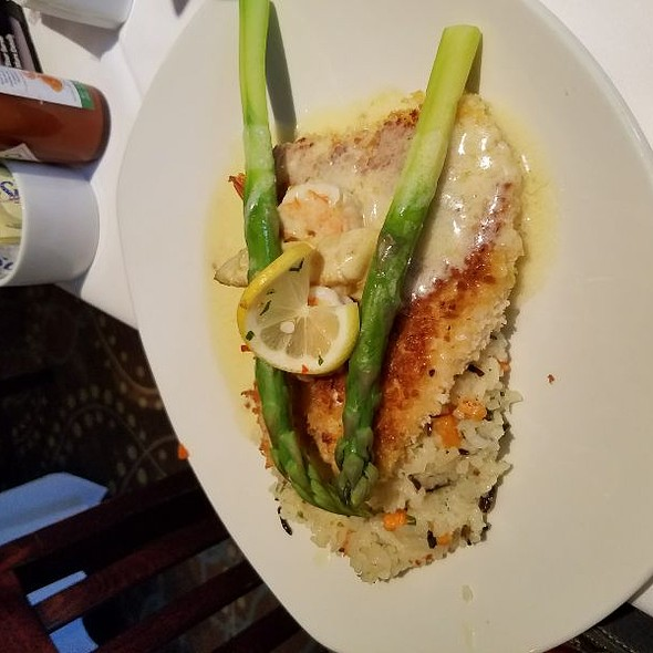 Parmesan Crusted Red Snapper