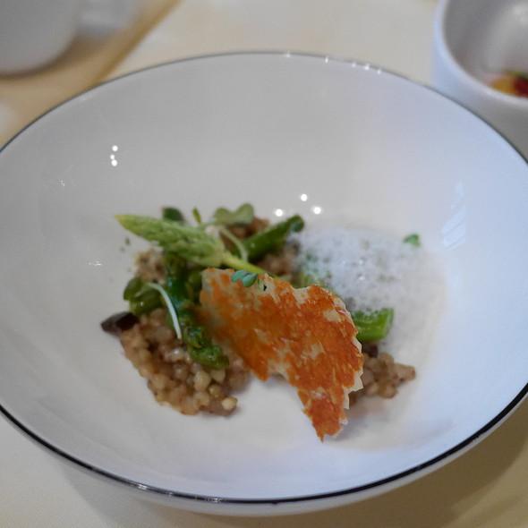 Buckwheat Risotto, Green Asparagus