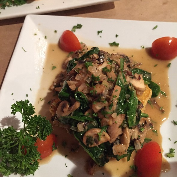 Polenta with Mushrooms @ Pastis