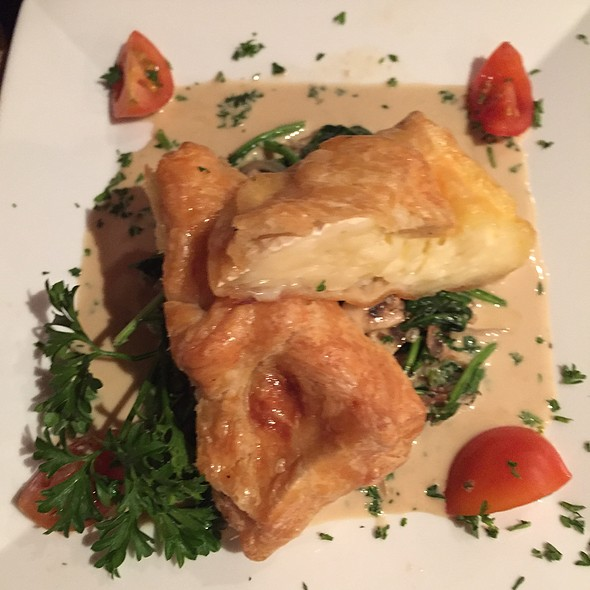 Vegetables In Puff Pastry @ Pastis