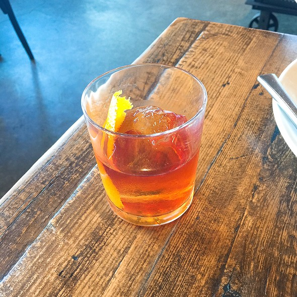Old Fashioned @ Hawks Provisions And Public House