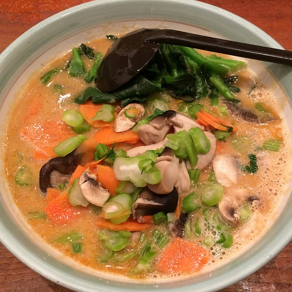 Vegetable Tan Tan Ramen With Vegetarian Broth @ Goma Tei Ramen