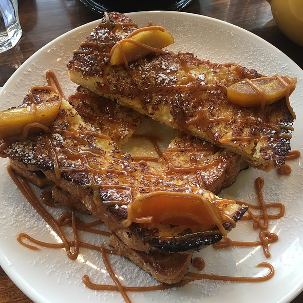 Caramellised Apple French Toast @ Ra-Ft Cafe' / Bistro