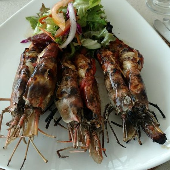 Grilled King Prawns @ The Fish Pot