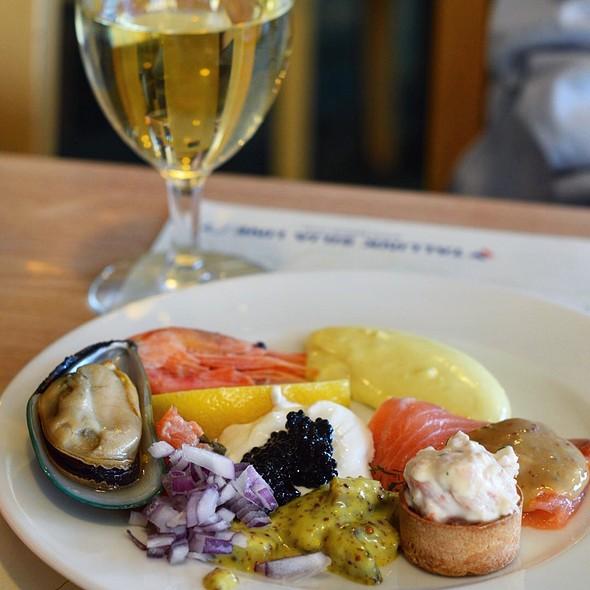 Buffet Seafood Starters @ Baltic Queen M/C