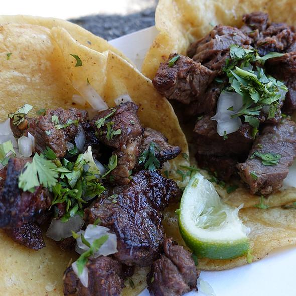 Carne Asada Tacos @ Taco Loco