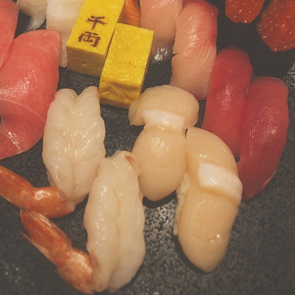 Assorted Sushi Playe