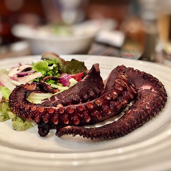 Grilled Octopus @ The Market