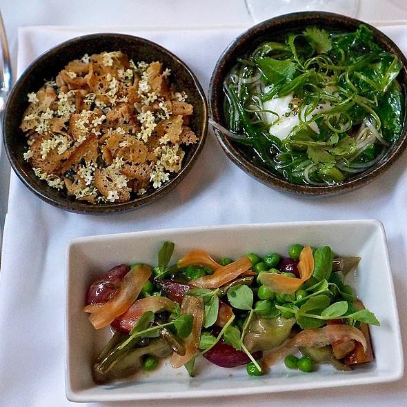 Spring Vegetarian Tasting