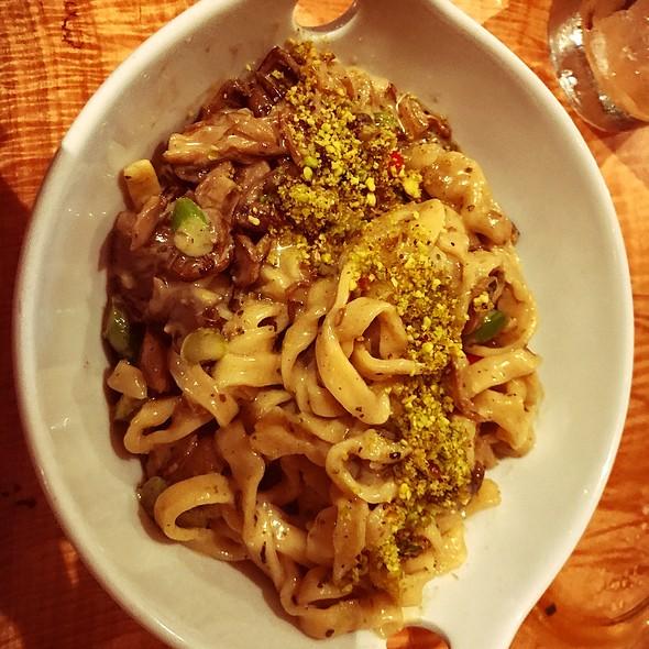 Mushroom Pasta @ The Garden On Grand