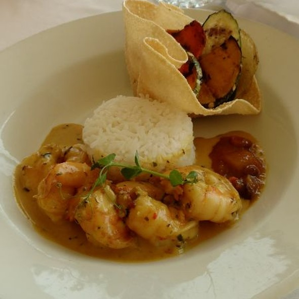 Shrimp Curry @ Champers Restaurant & Wine Bar
