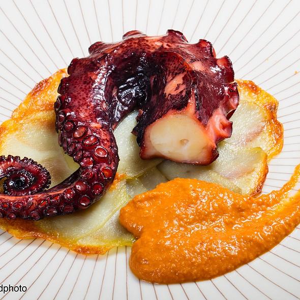 Octupus With Romesco Sauce @ La Salseta