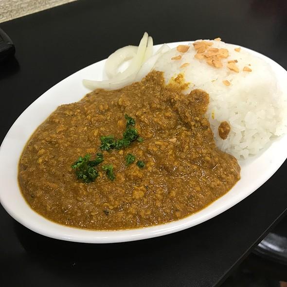キーマカレー @ 自家製麺 SHIN