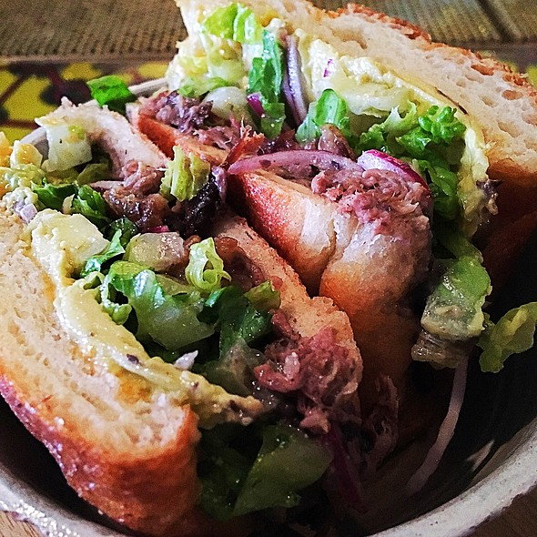 Spicy Pork Loin Torta @ Salvation Taco