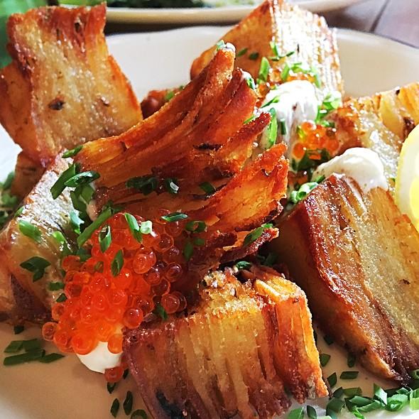Crispy Layered Potato @ White Gold Butchers