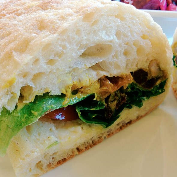 Coronation Chicken Sandwich @ Bloom Bakery