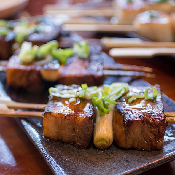 Shoyu Braised Pork Belly Robata-yaki @ Ramen Gaijin