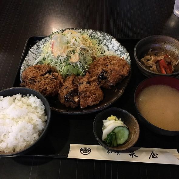 ヒレミソカツ定食 @ 和食泉屋