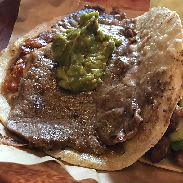 The Rib Eye Taco @ Cinco Taco Bar