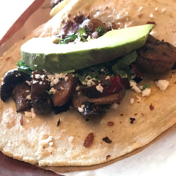 Mushrooms Ajillo @ Cinco Taco Bar