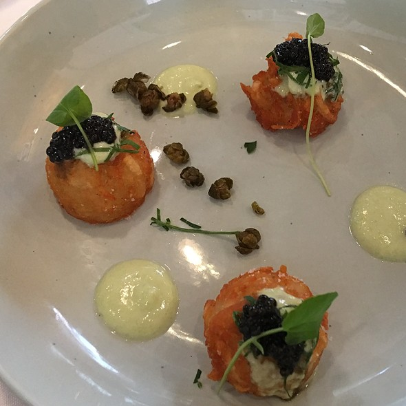 Crispy Potatoes With Caviar