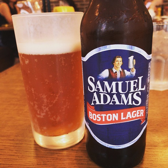 Samuel Adams Boston Lager @ Bubby's Tribeca Tokyo