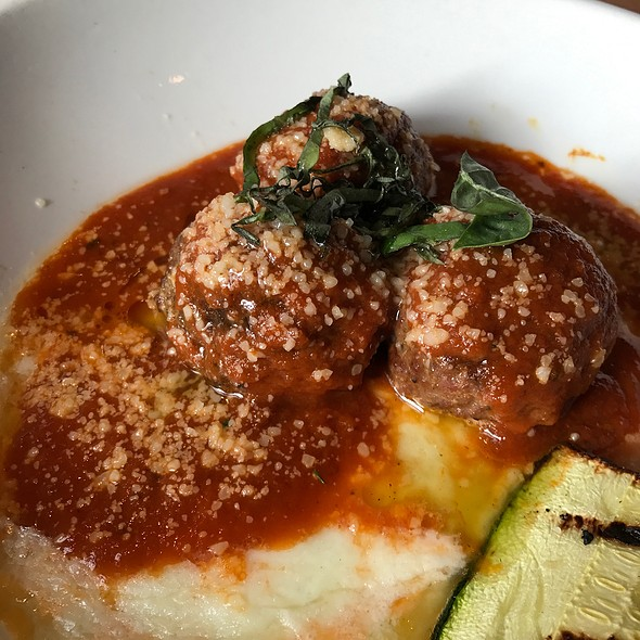 Bison Spicy Meatballs @ Appaloosa Grill