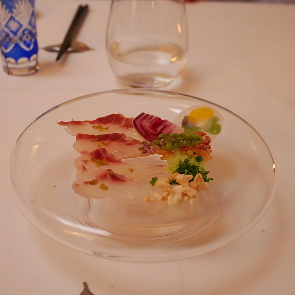 Sea Bass Ikejime-Sashimi