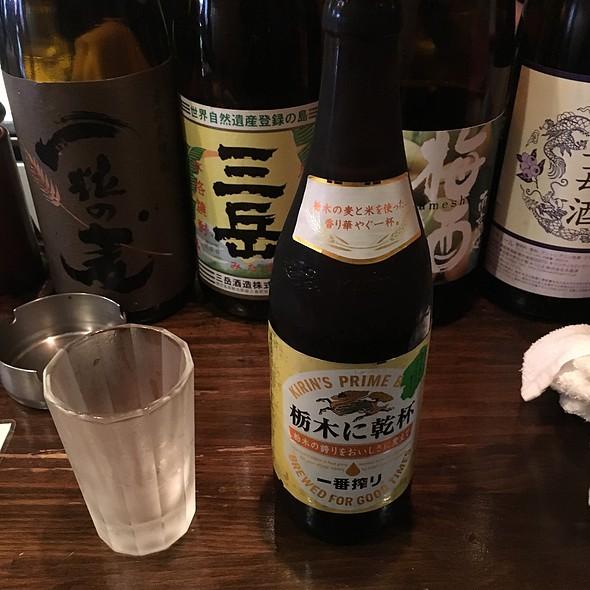 瓶ビール @ やきとり家竜鳳東武宇都宮駅前店