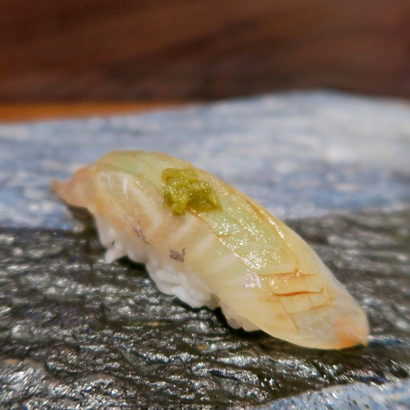Japanese Sea Bass With Shiso And Shishito Pepper
