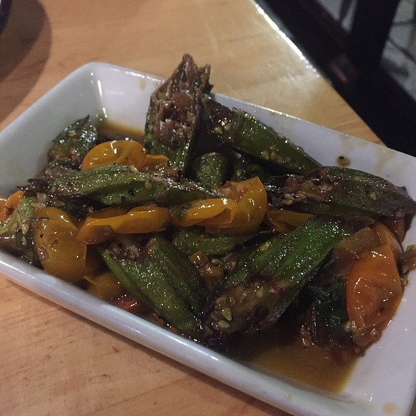 Flash Fried Okra @ Cochon Butcher