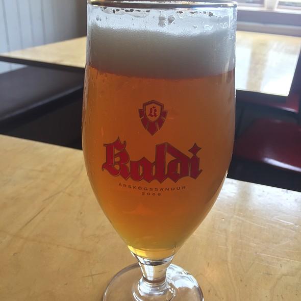 Ósíaður Dökkur Kaldi Beer