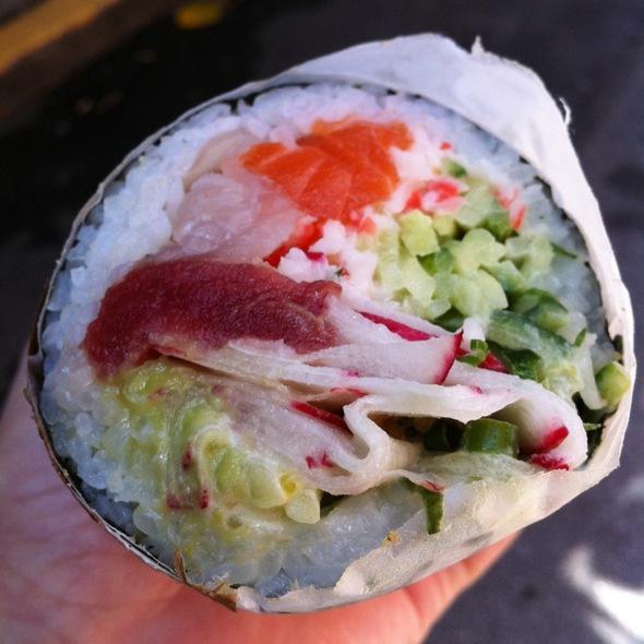 Sushi Burrito @ Sushirrito